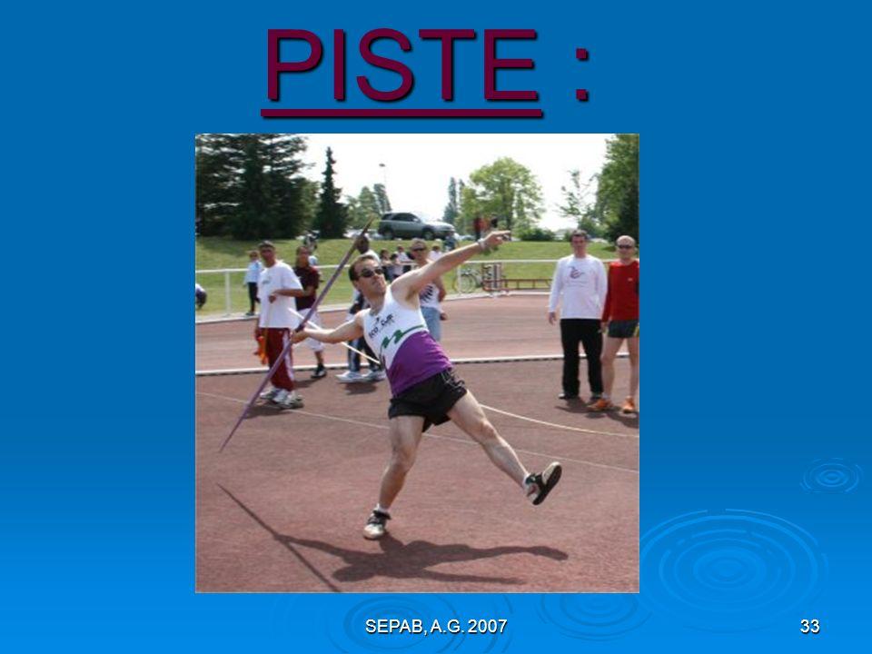 PISTE : SEPAB, A.G. 2007