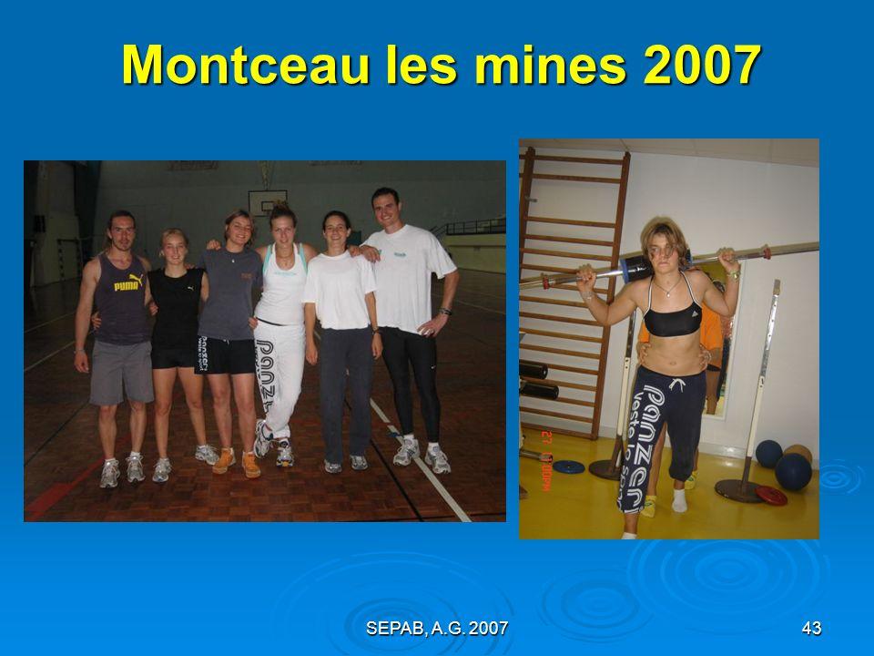 Montceau les mines 2007 SEPAB, A.G. 2007