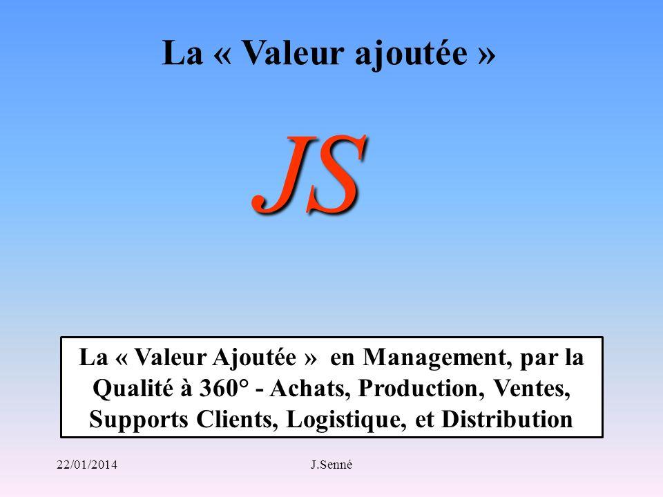 La « Valeur ajoutée » JS.