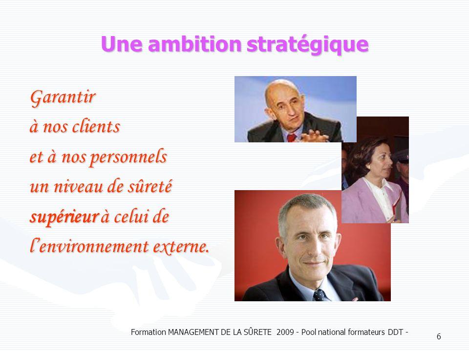 Une ambition stratégique