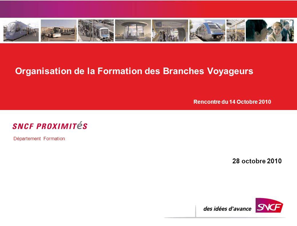 Organisation de la Formation des Branches Voyageurs