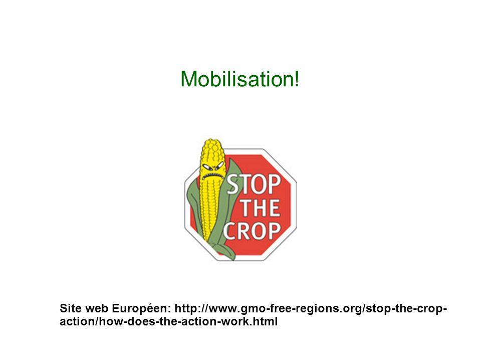 Mobilisation.