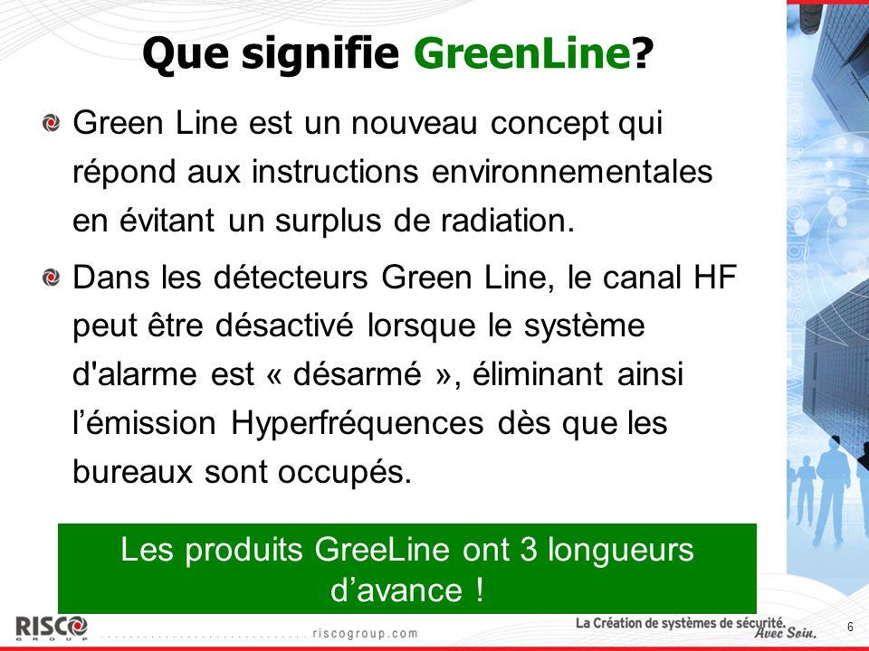 Que signifie GreenLine