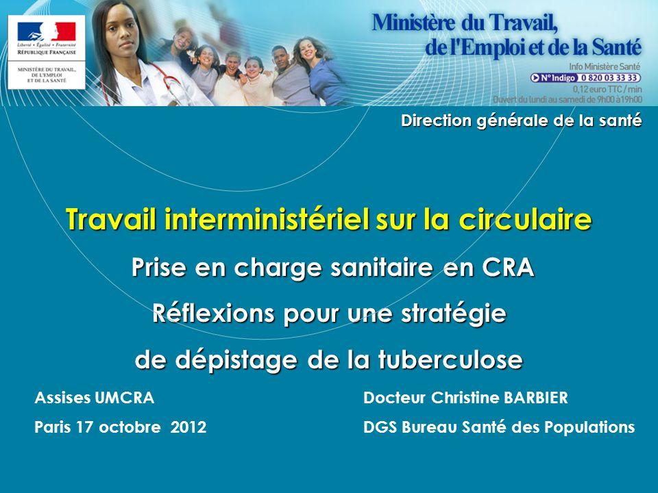 Réflexions pour une stratégie de dépistage de la tuberculose