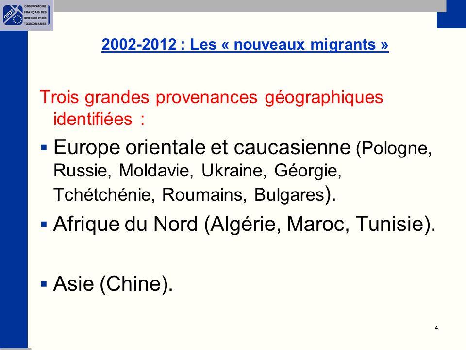 2002-2012 : Les « nouveaux migrants »