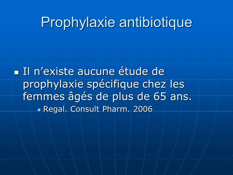 Prophylaxie antibiotique