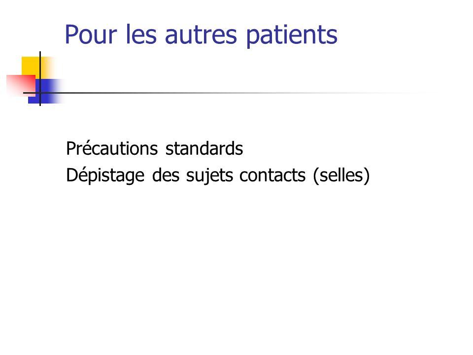 Pour les autres patients