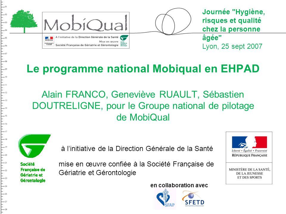 Le programme national Mobiqual en EHPAD