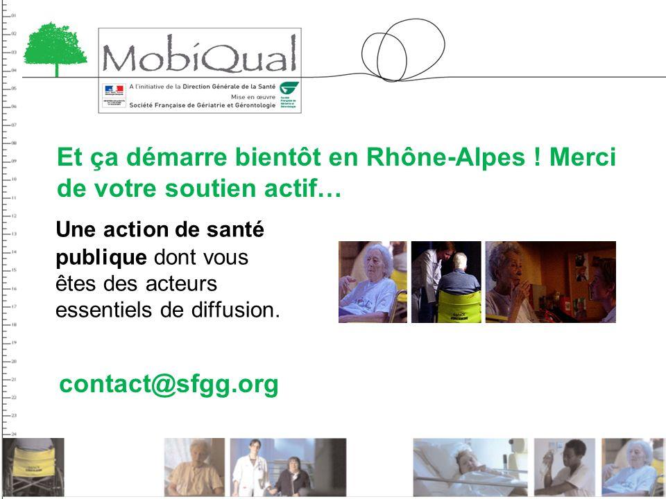 Et ça démarre bientôt en Rhône-Alpes ! Merci de votre soutien actif…