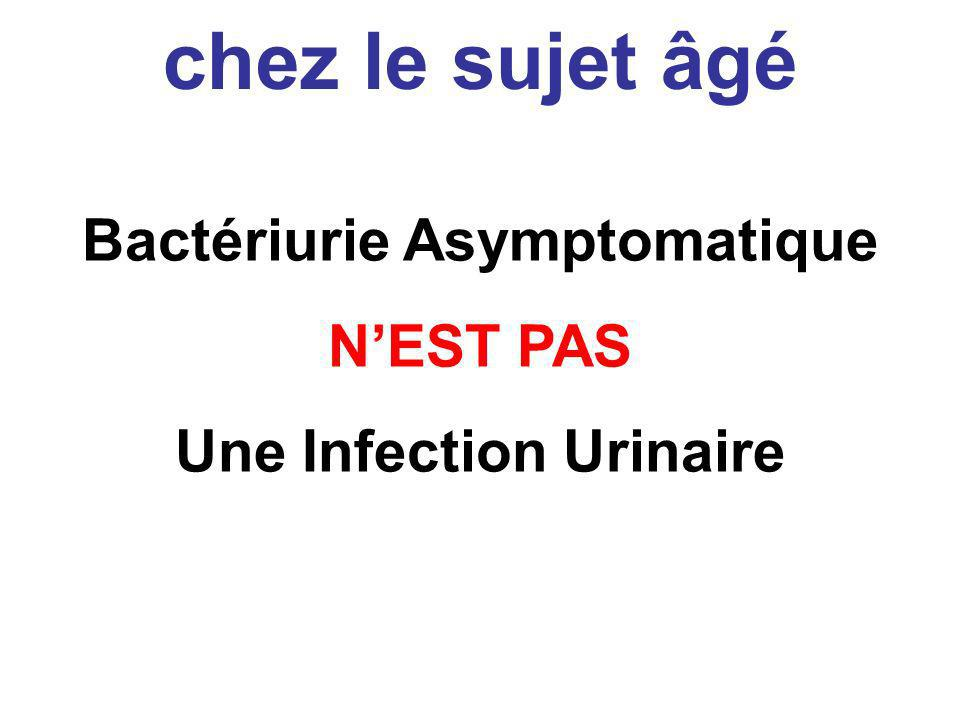 Bactériurie Asymptomatique Une Infection Urinaire