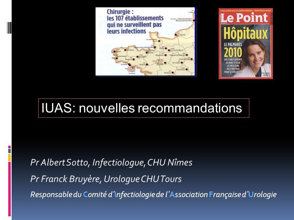 IUAS: nouvelles recommandations