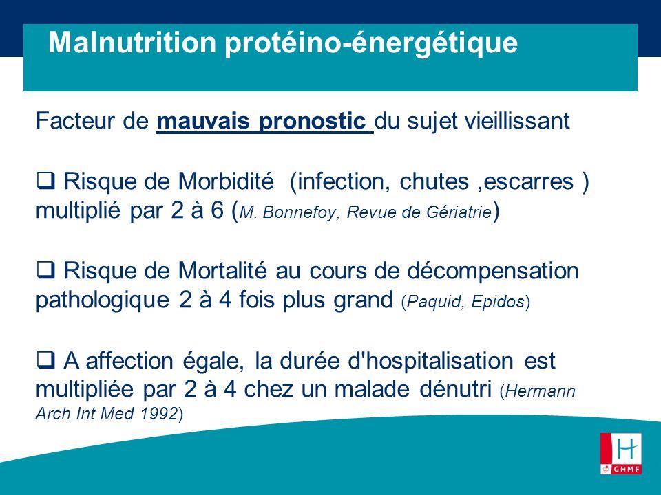 Malnutrition protéino-énergétique