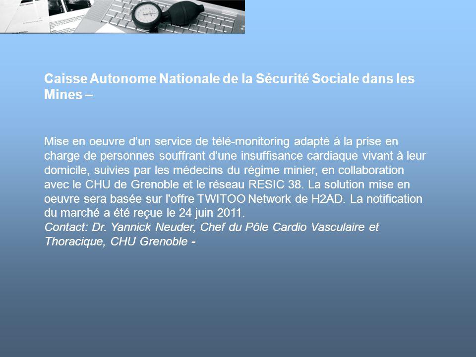 Caisse Autonome Nationale de la Sécurité Sociale dans les Mines –
