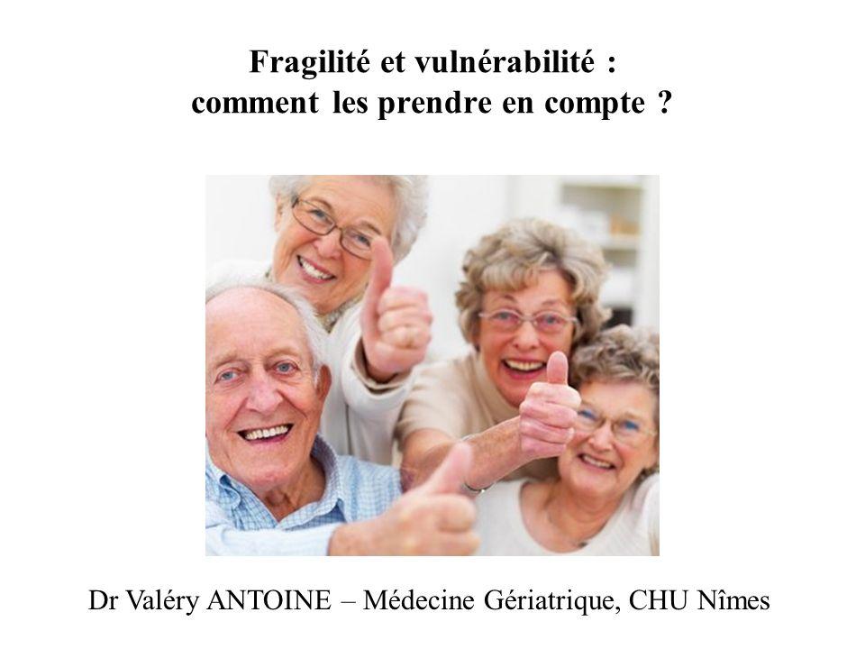 Fragilité et vulnérabilité : comment les prendre en compte