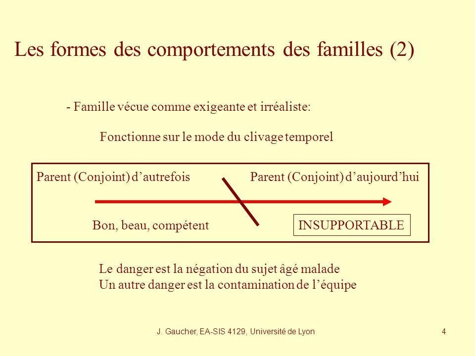 J. Gaucher, EA-SIS 4129, Université de Lyon