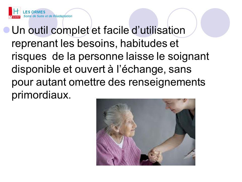 LES ORMESSoins de Suite et de Réadaptation.