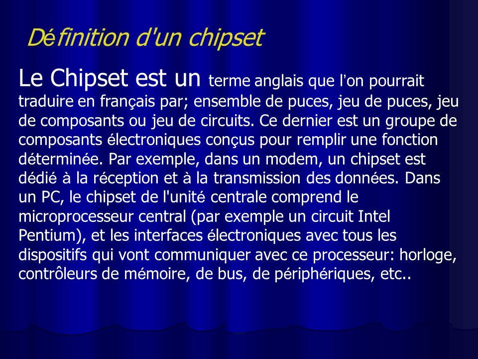 Définition d un chipset