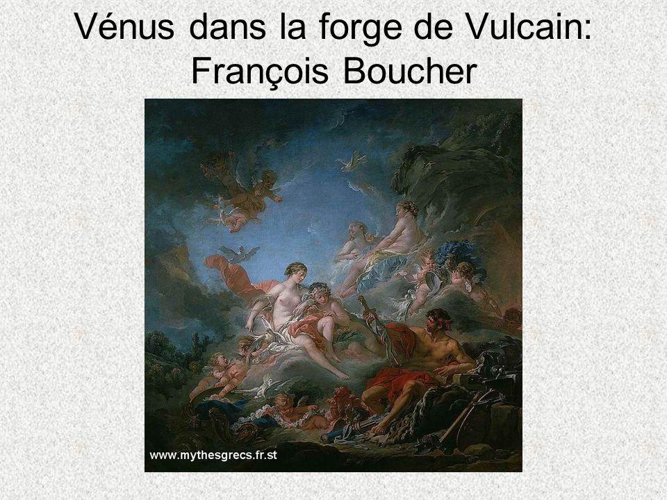 Vénus dans la forge de Vulcain: François Boucher