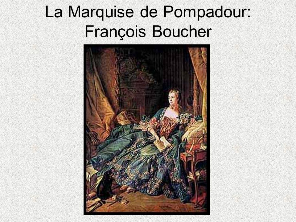 La Marquise de Pompadour: François Boucher