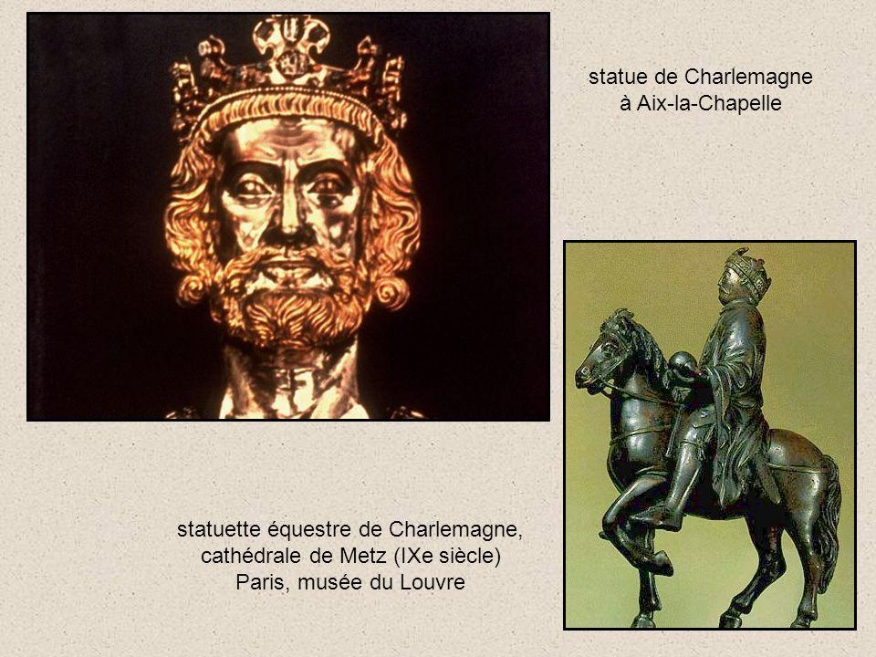 statue de Charlemagne à Aix-la-Chapelle