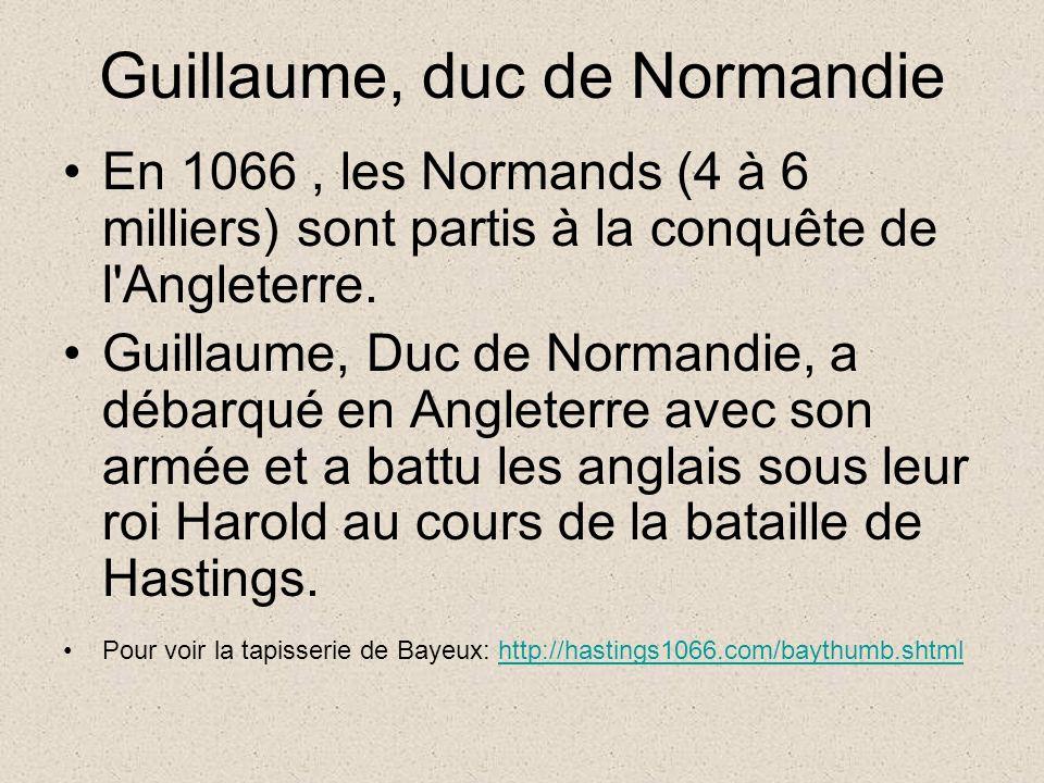 Guillaume, duc de Normandie