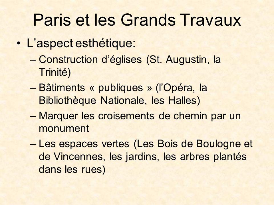 Paris et les Grands Travaux