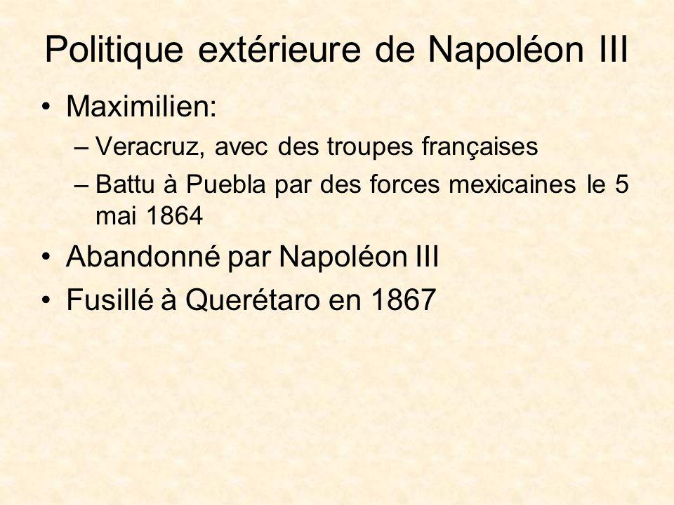 Politique extérieure de Napoléon III