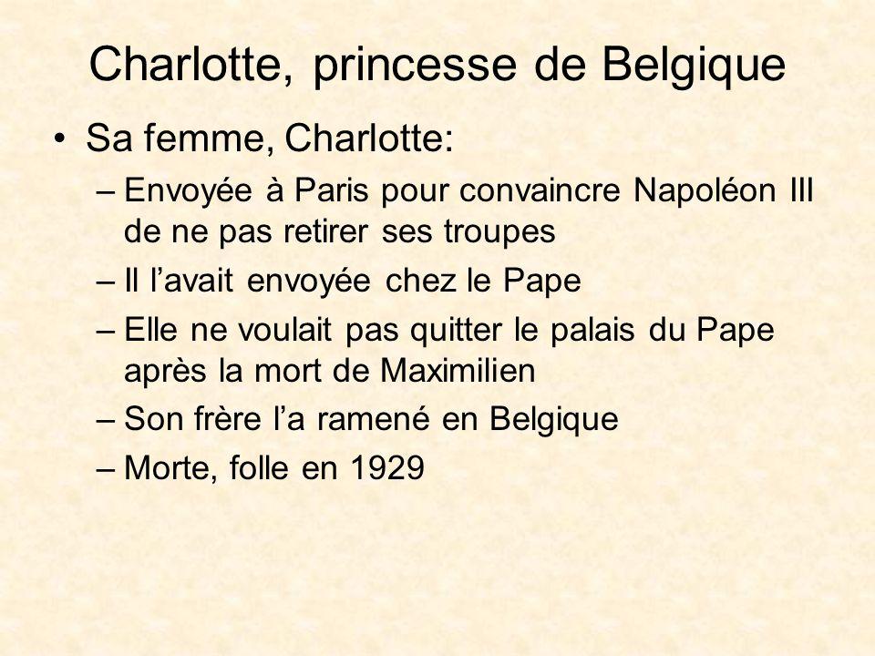 Charlotte, princesse de Belgique