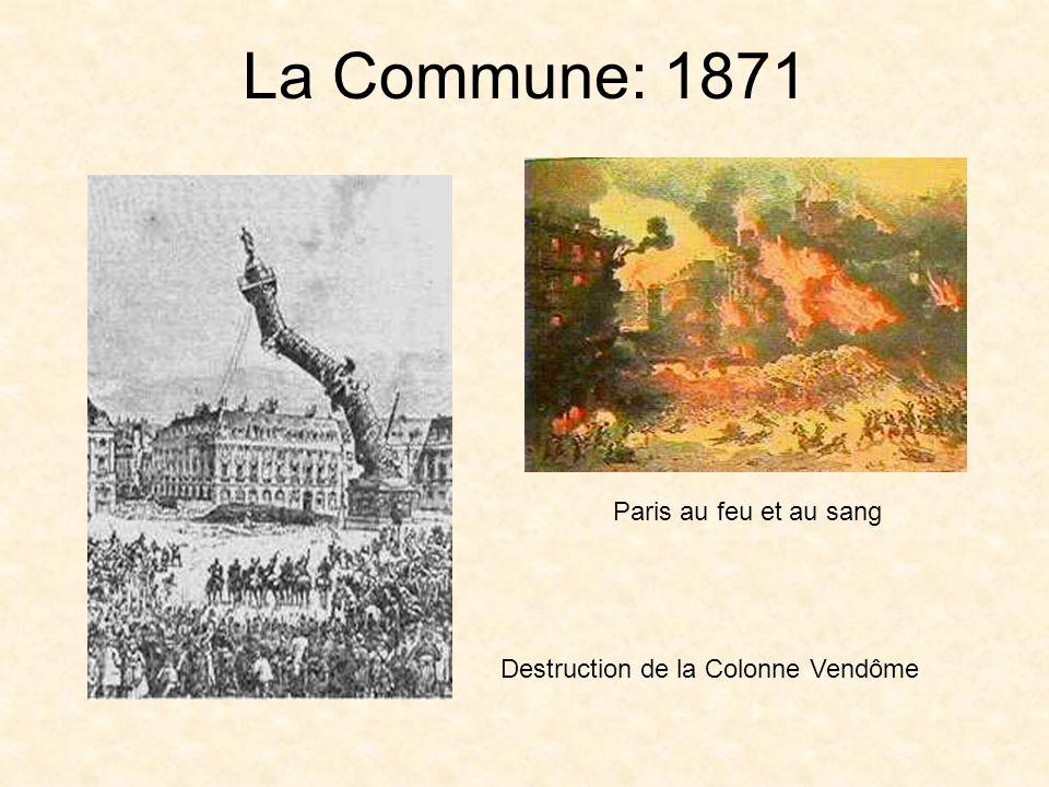 La Commune: 1871 Paris au feu et au sang