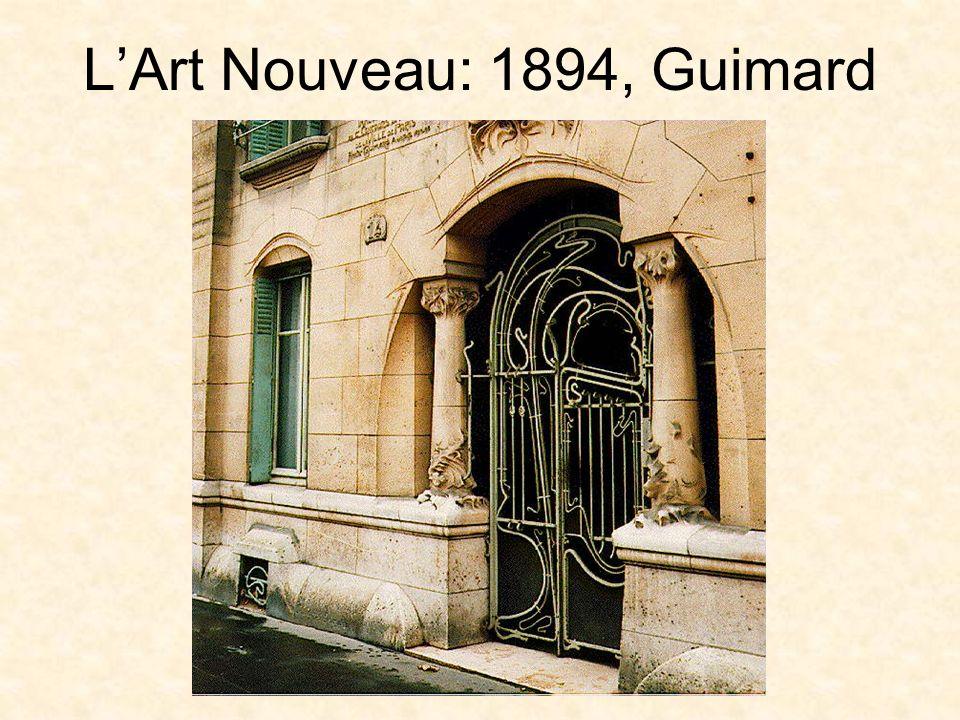 L'Art Nouveau: 1894, Guimard