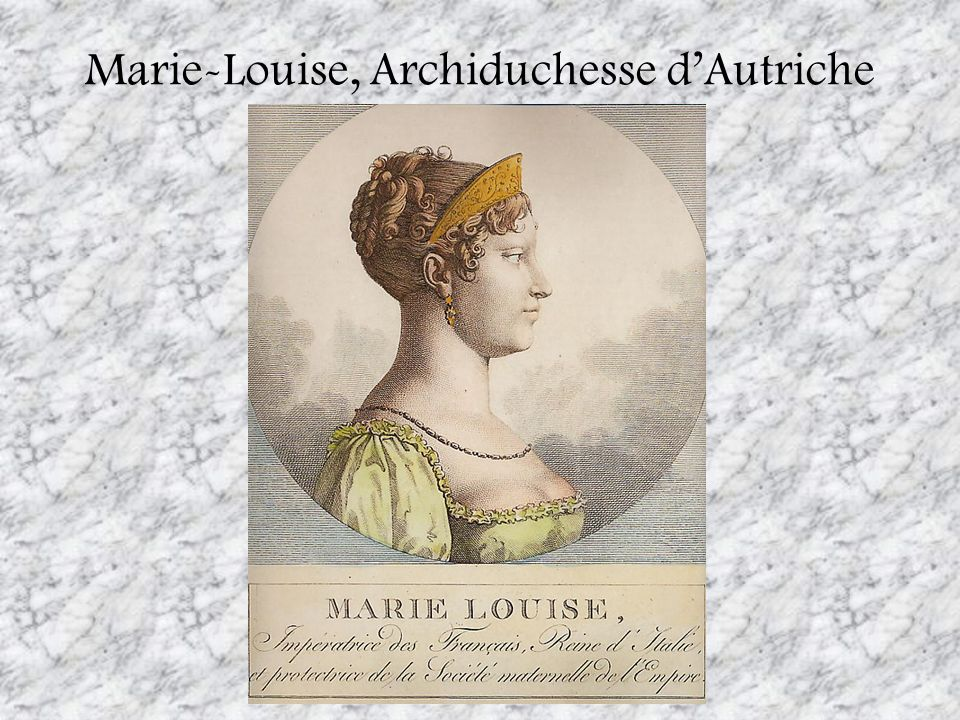 Marie-Louise, Archiduchesse d'Autriche