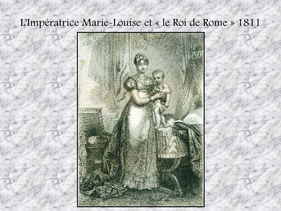L Impératrice Marie-Louise et « le Roi de Rome » 1811