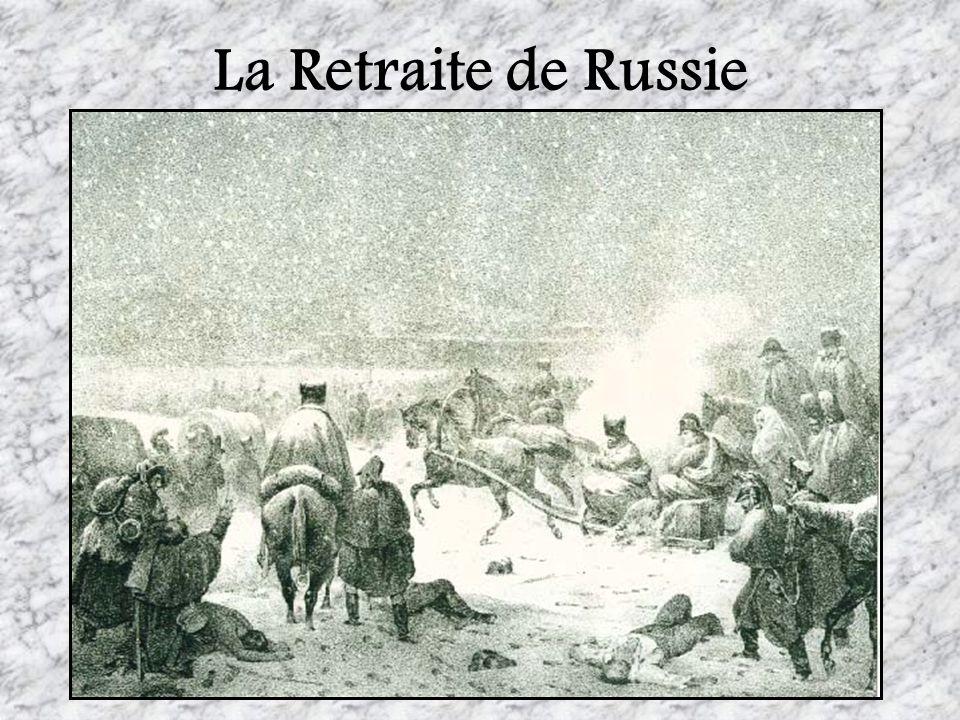 La Retraite de Russie