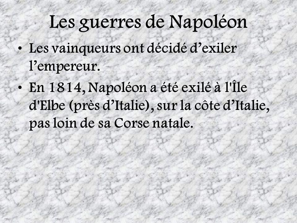 Les guerres de Napoléon
