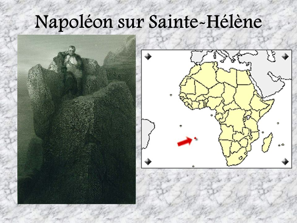Napoléon sur Sainte-Hélène