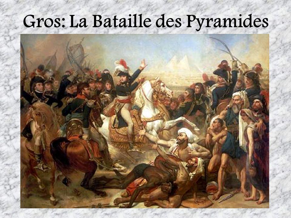 Gros: La Bataille des Pyramides