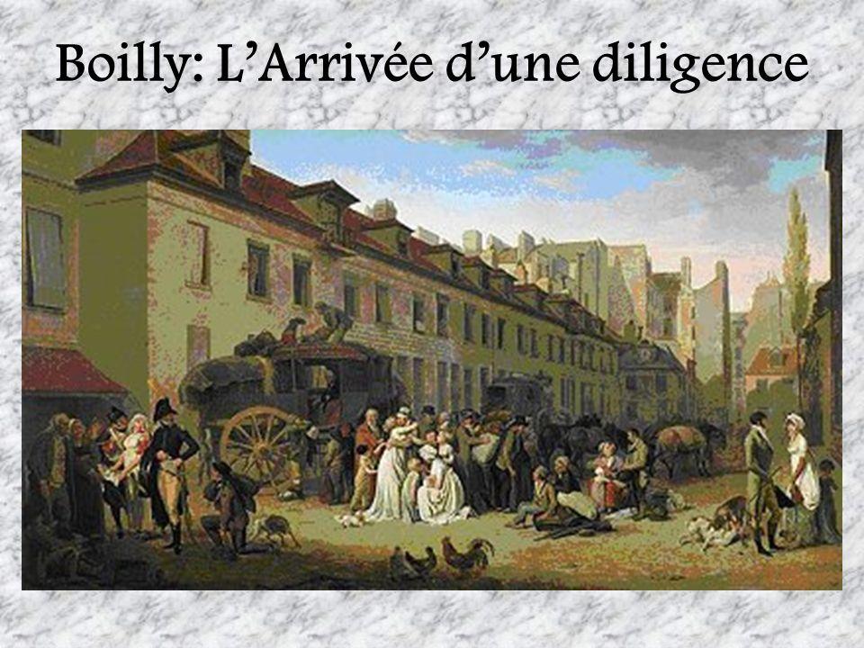 Boilly: L'Arrivée d'une diligence