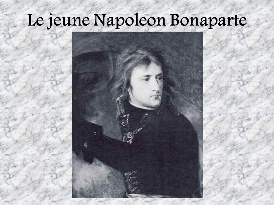 Le jeune Napoleon Bonaparte
