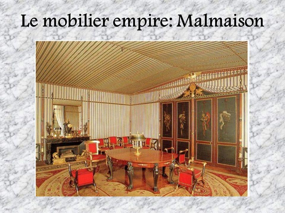 Le mobilier empire: Malmaison