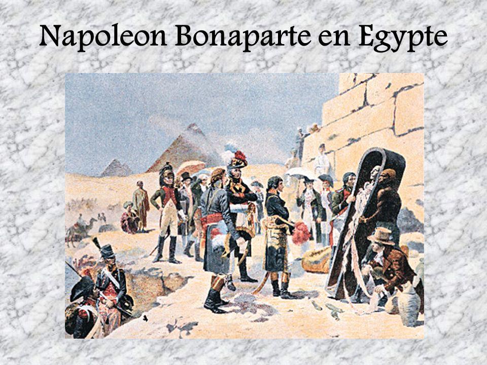 Napoleon Bonaparte en Egypte
