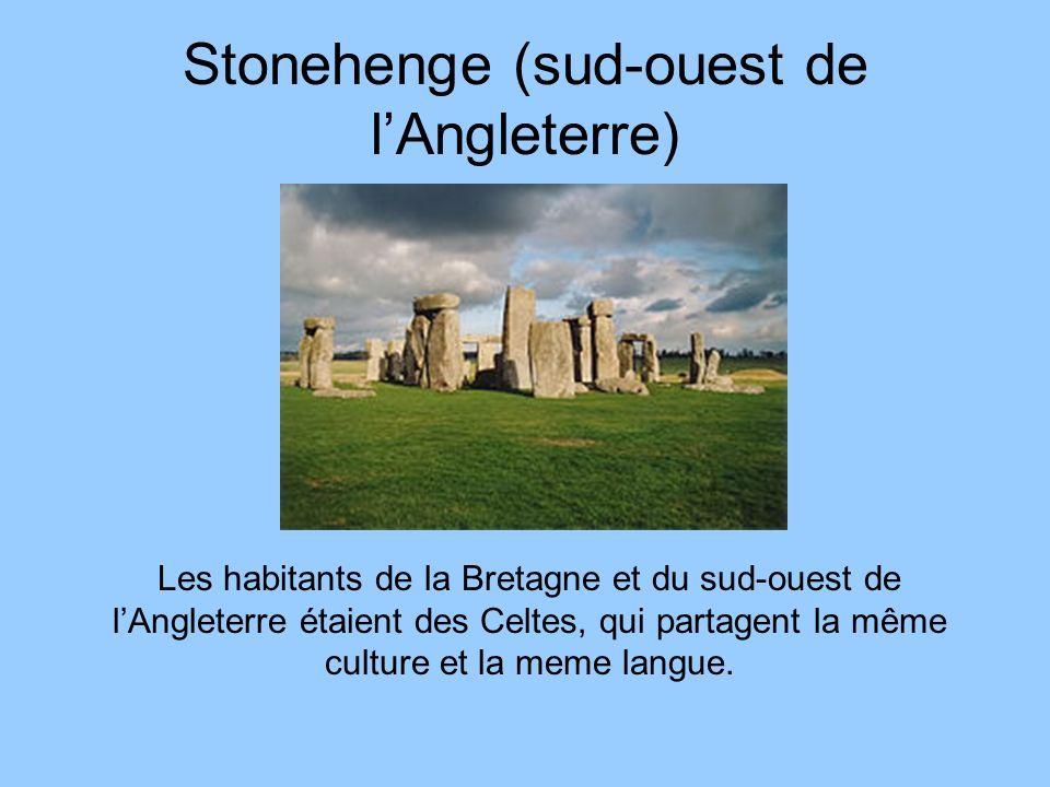 Stonehenge (sud-ouest de l'Angleterre)