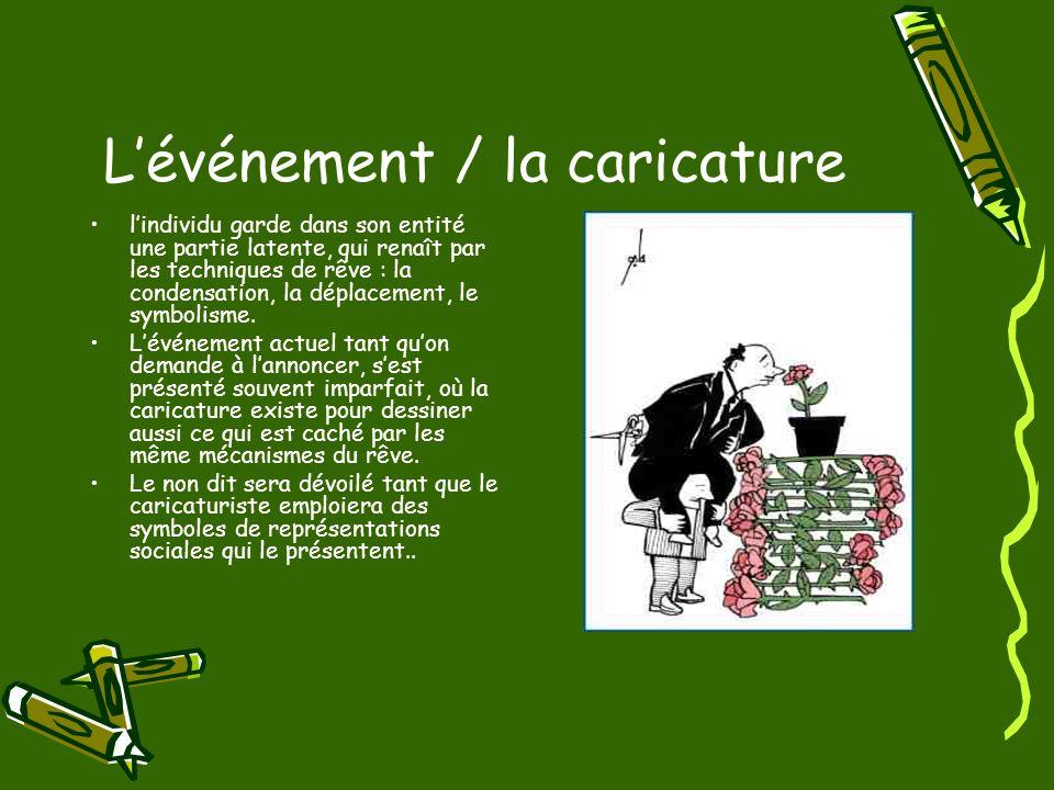 L'événement / la caricature