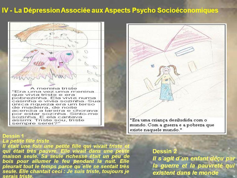 IV - La Dépression Associée aux Aspects Psycho Socioéconomiques