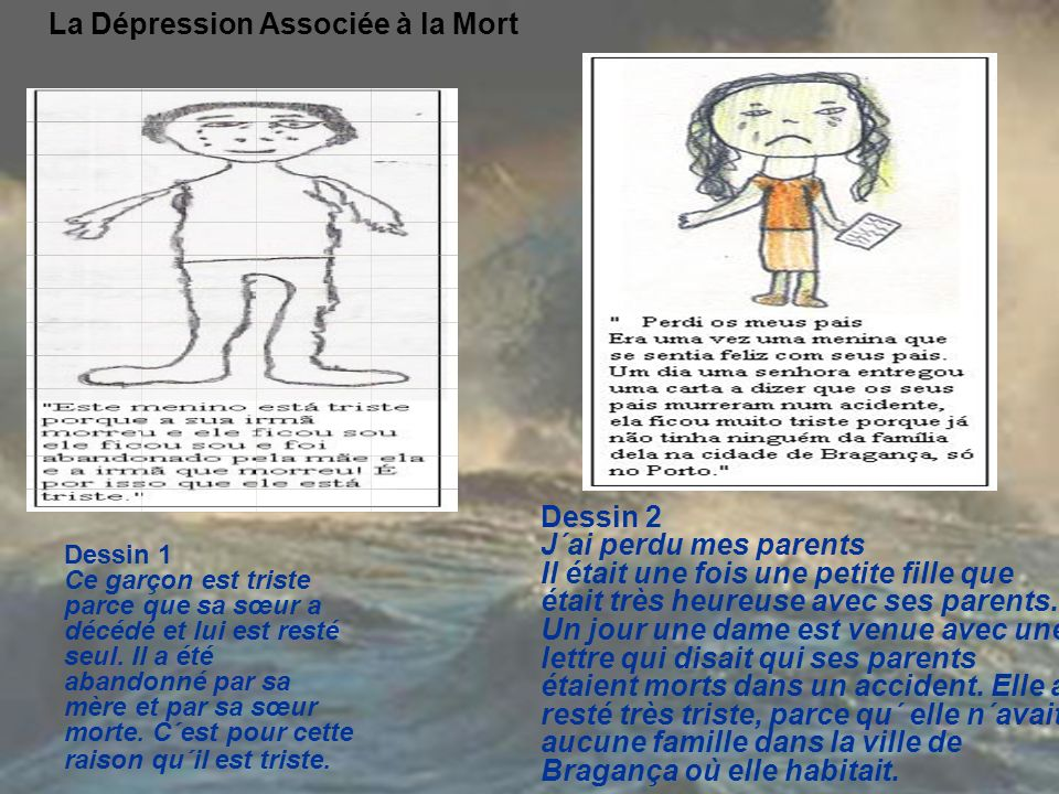 La Dépression Associée à la Mort