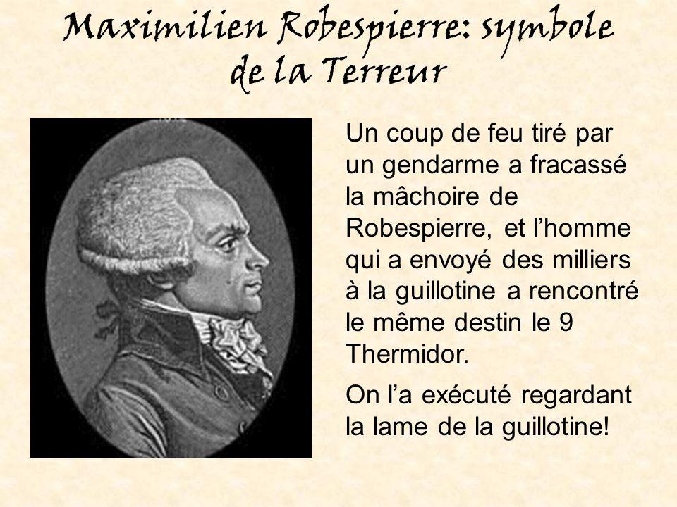 Maximilien Robespierre: symbole de la Terreur