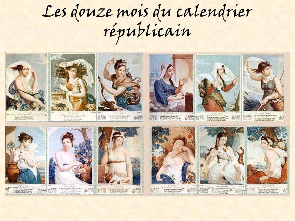 Les douze mois du calendrier républicain