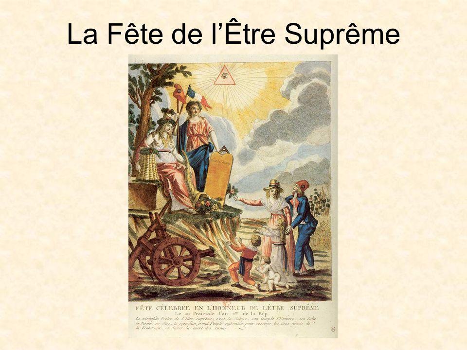 La Fête de l'Être Suprême