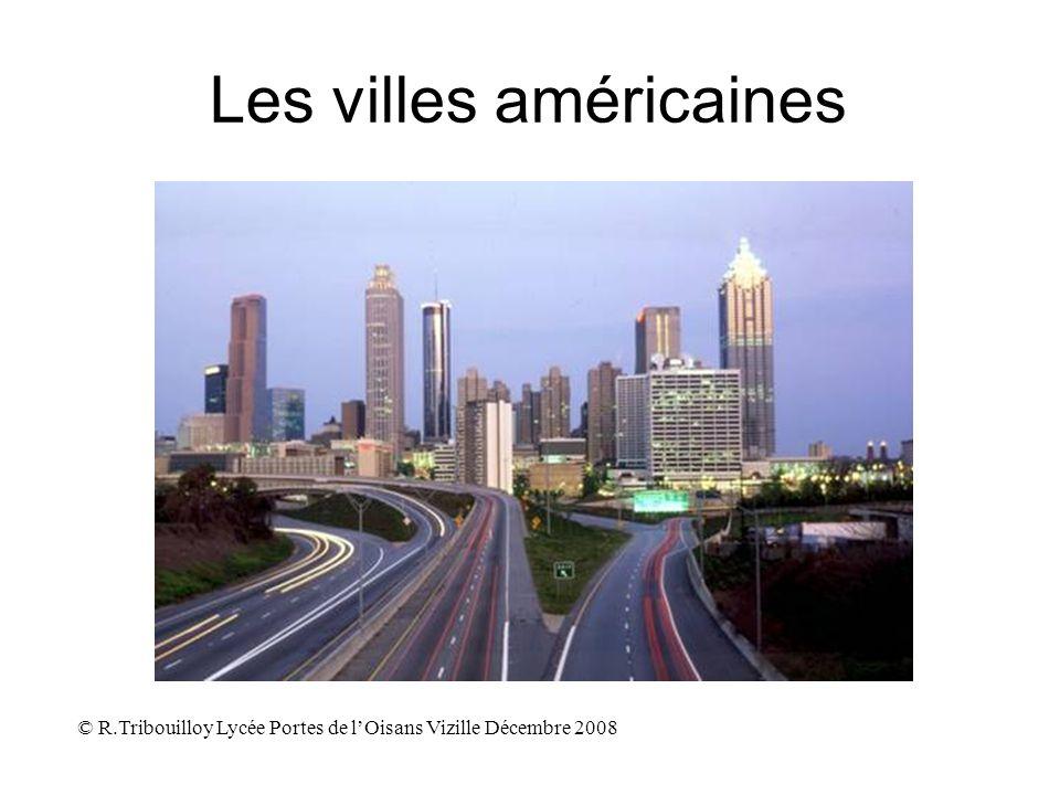 Les villes américaines