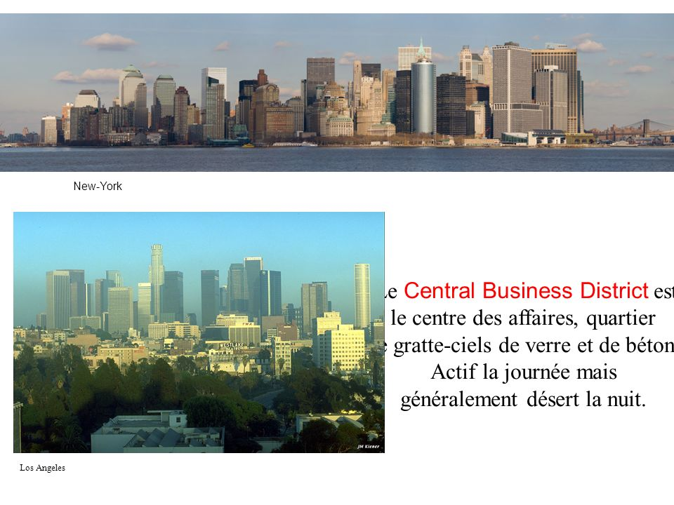 Le Central Business District est le centre des affaires, quartier