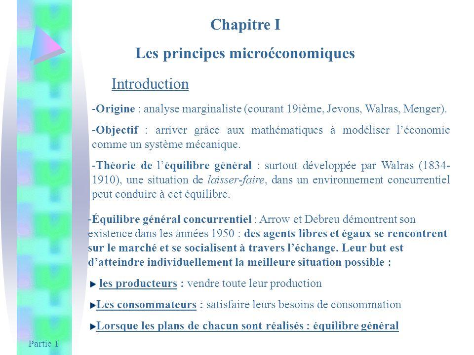 Les principes microéconomiques